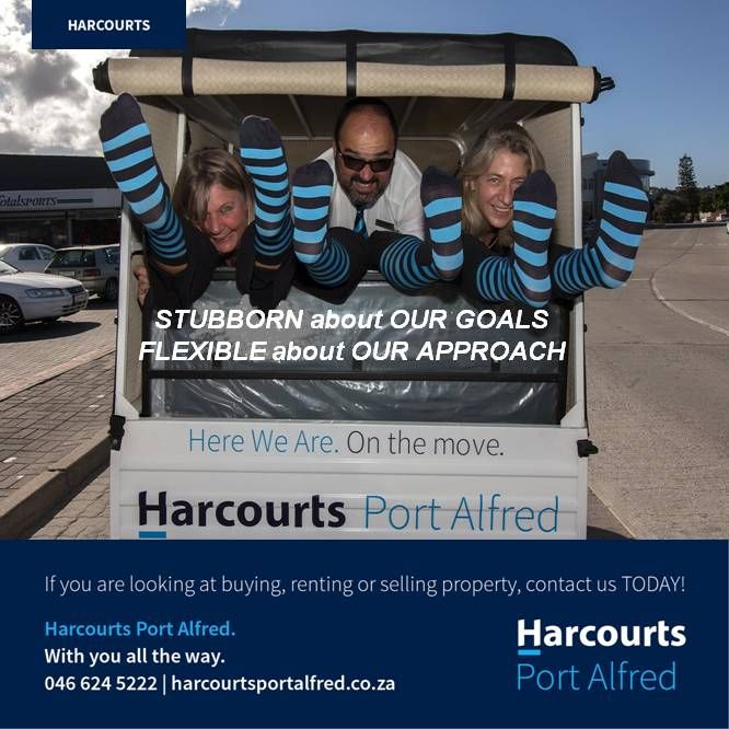 This is how we roll #Harcourts #PortAlfred #HereWeAre #BetterInBlue