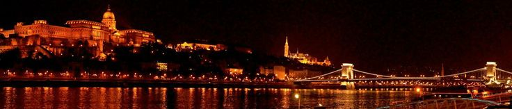 Panorama view of Buda Castle. Photo by David Lam