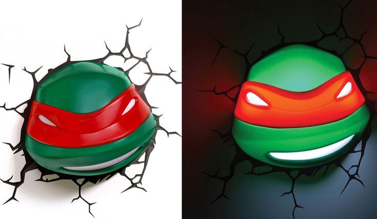 3D Deco Light TMNT Raphael - Best Wallpaper HD
