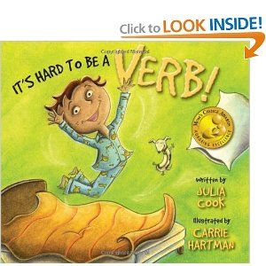It's Hard To Be a Verb!  Great for teaching children that need a lot of movement.  Also use it to teach verbs.  Get those students moving to all different kinds of verbs at the same time.  Chart a list of verbs too.: Vivid Verb, Idea, Teaching Verb, Language Arts, Kid, Picture Book