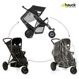 Carucior Hauck Dublu Freerider SH12 Black