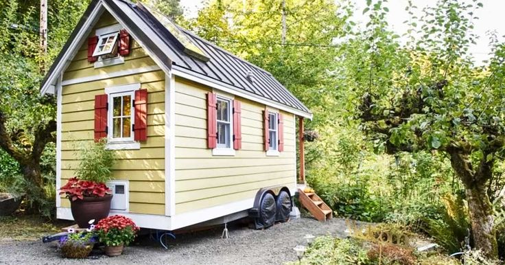 Hidden in Olympia, Wash. lies this beautiful, quiet tiny home. Handmade by its owner, Brittany, the little house features many commodities, but it also keeps that rustic and eco-friendly charm.