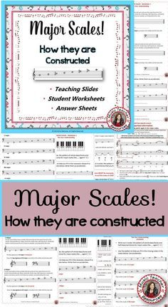 MAJOR SCALES! This