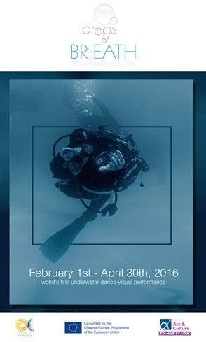 """""""Drops of Breath"""" (1 Φεβρουαρίου – 30 Απριλίου 2016)Τον Σεπτέμβριο του 2015, η πρώτη υποβρύχια παράσταση χορού παγκοσμίως δόθηκε κάτω από τον αρχαίο Ναό του Ποσειδώνα στο Ακρωτήριο του Σουνίου, σε …"""