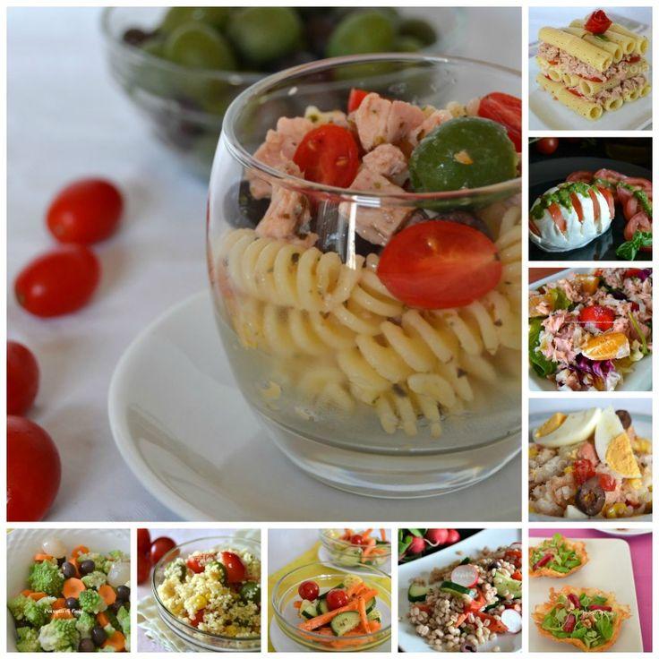 10 ricette di insalata per l'estate