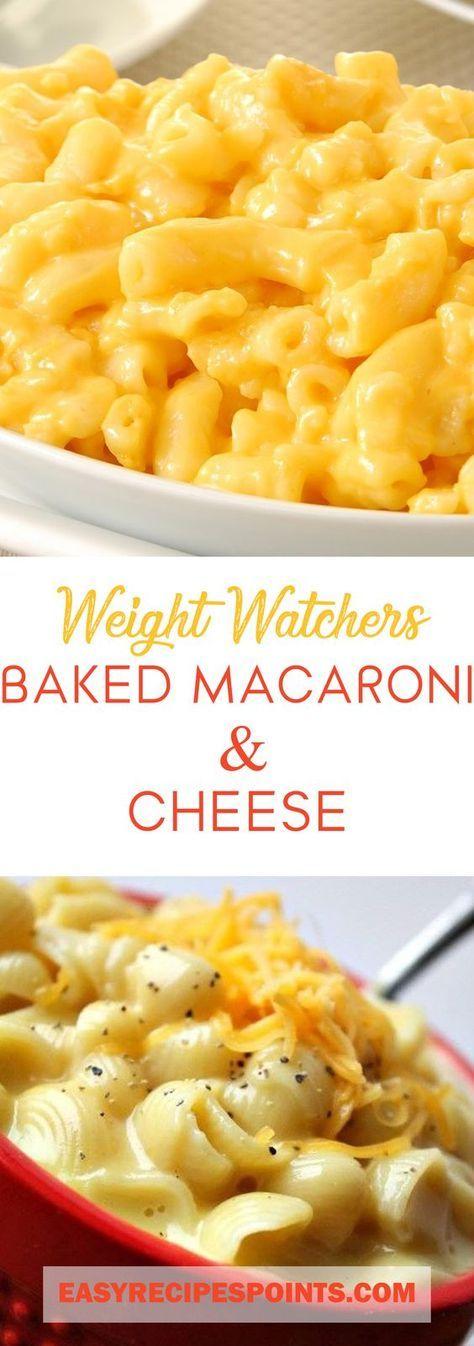Weight Watchers Baked Macaroni & Cheese ♥