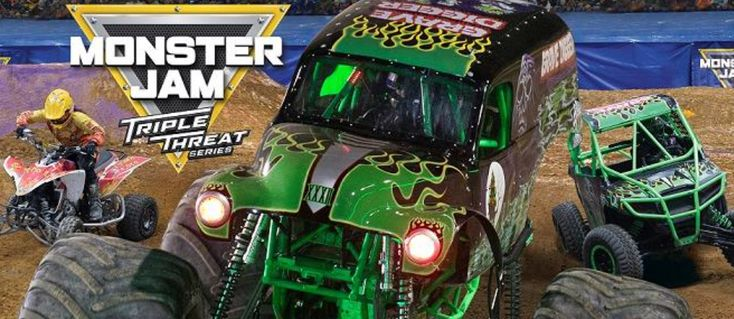 Monster Jam® 2018 Triple Threat Series™ Returns to Portland's Moda Center in just a few short weeks - get your tickets now - starting at only $29  http://www.dazzlingdailydeals.com/monster-jam-2018-triple-threat-series-returns-portlands-moda-center/