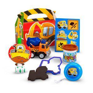 Construction Pals Party Favor Box
