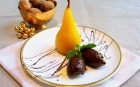 Try our Saffron Poached Pears with Chocolate Mousse. Recipe with reviews and photos @FoodNetwork_UK