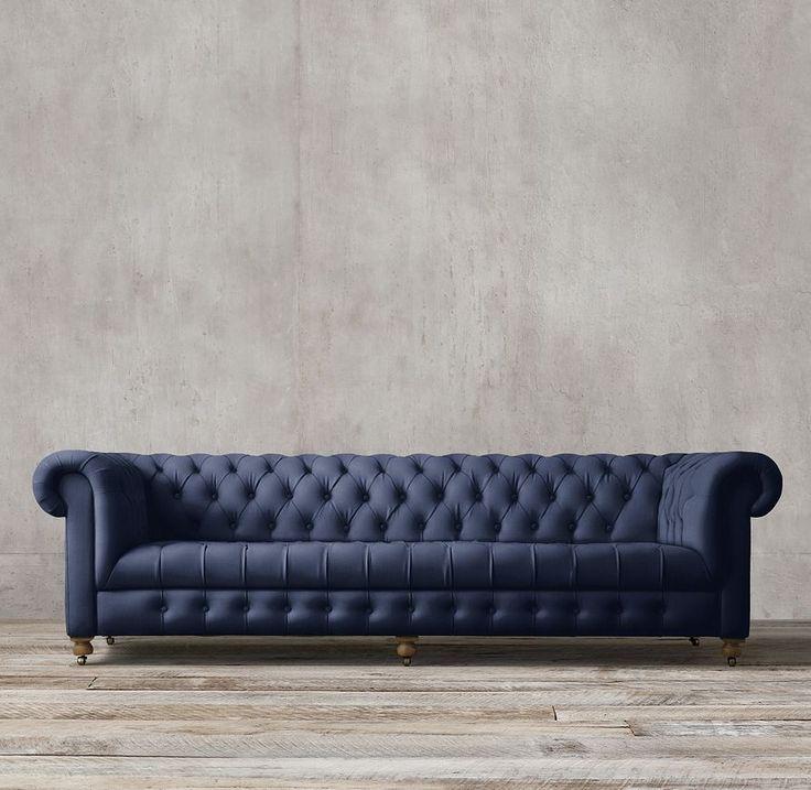 Restoration Hardware Cambridge Upholstered Sofa Reside
