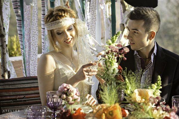 boho chic, Panna Młoda w stylu boho, bukiet ślubny w stylu boho #wedding #wedding inspiration #boho
