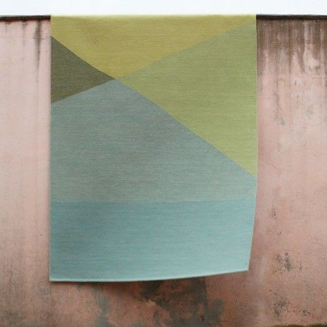 Tuck wool rug from Marle Collection by A & Co