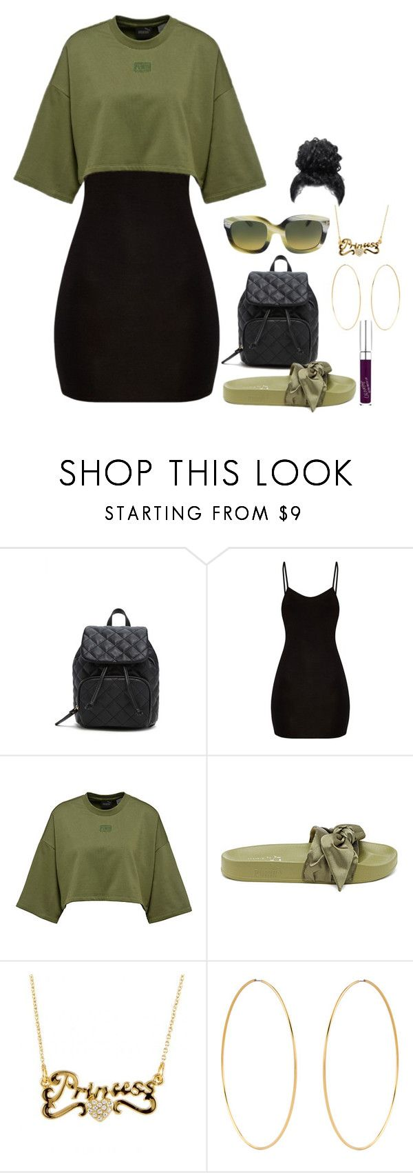 """"""""""" by miniurbanprincess ❤ liked on Polyvore featuring Forever 21, Puma, Tom Ford, Accessorize and GUESS"""