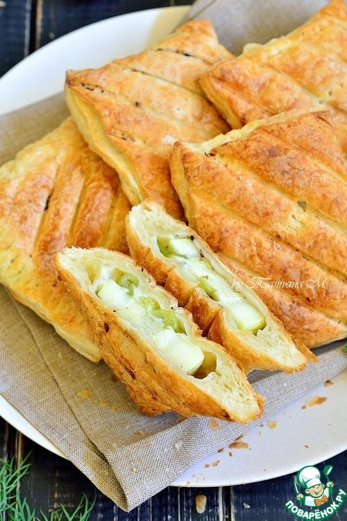 Гриль-закуска из кабачка в тесте - кулинарный рецепт