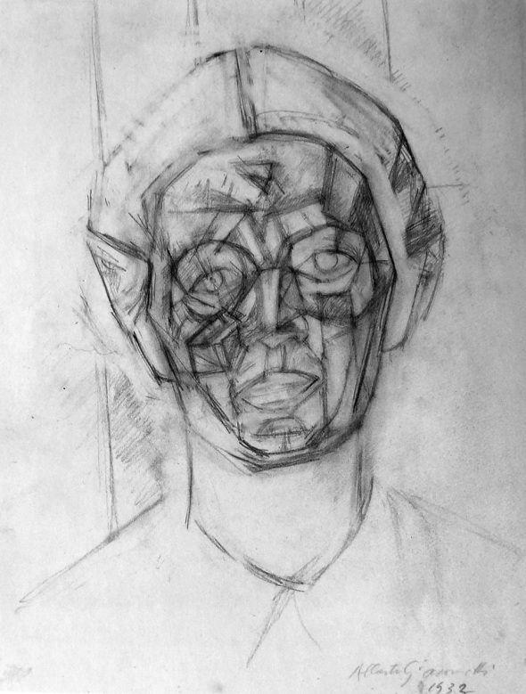 Alberto Giacometti, Portrait, 1932