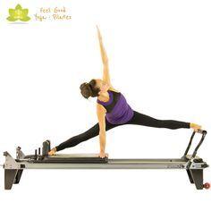 the spider pilates reformer exercise 5