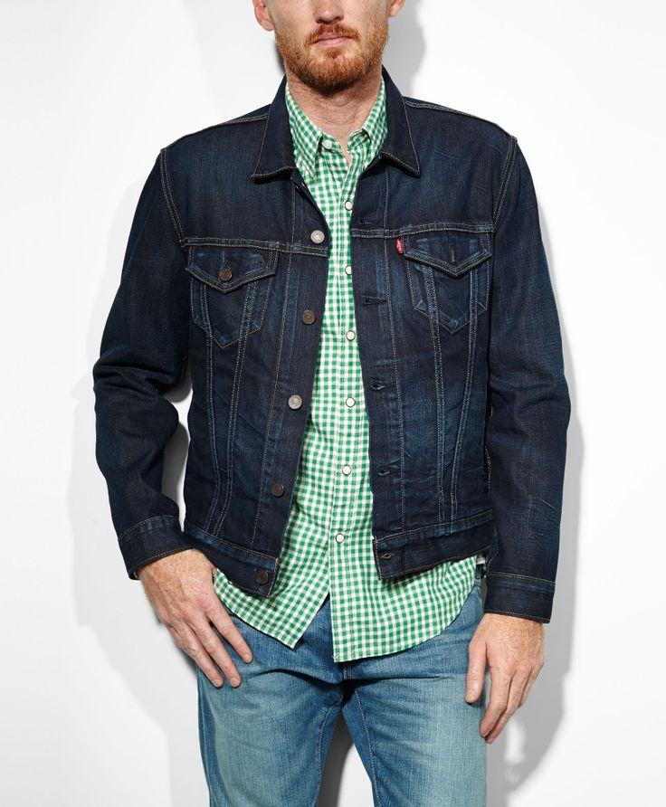 Slim Fit Demin Trucker Jacket #McFlys
