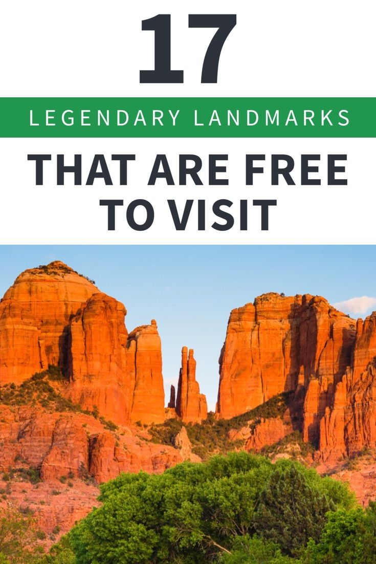 here are some famous landmarks and attractions that are free — or mostly free — to visit.