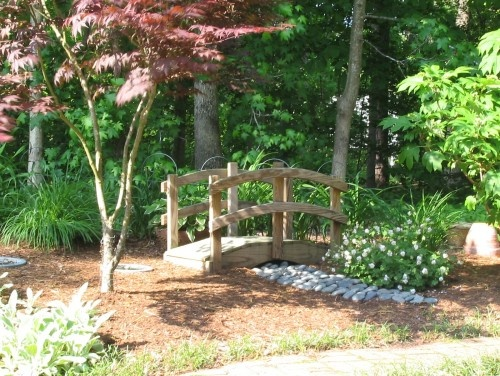 japanese garden bridge asian landscape other metro harmony design northwest