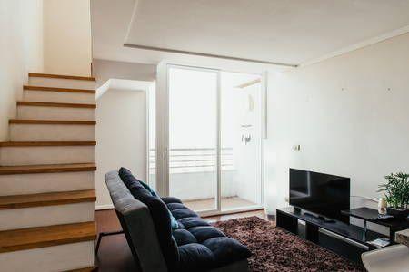 Échale un vistazo a este increíble alojamiento de Airbnb: Loft Near Santa Lucía Hill - Lofts en alquiler en Santiago
