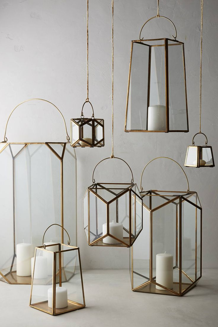 Geo Glow Lantern | anthropologie: