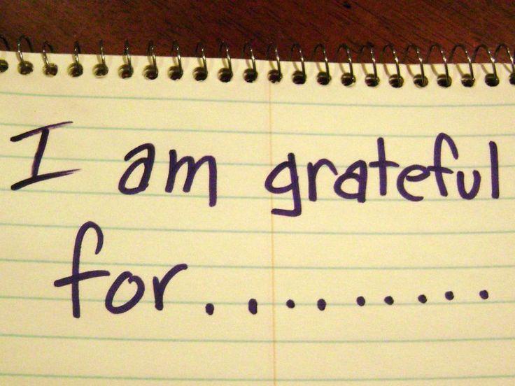 Gratitude is good?