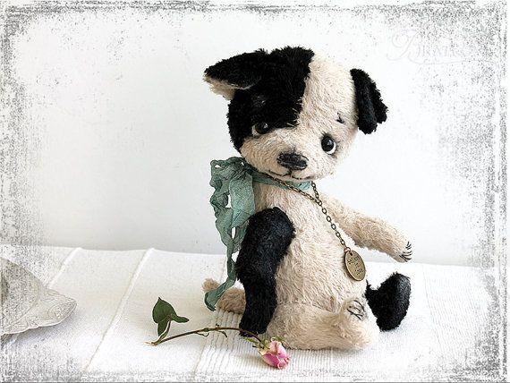 PATTERN Download to create Teddy Sweet Puppy Black от zverrriki
