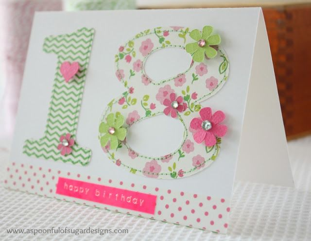 Easy Birthday Cards to Make | A Spoonful of Sugar