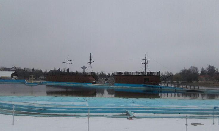 Hajdúszoboszló Aquapark télen