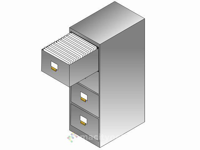 File Cabinet larchivio con cassetto per gestire file e cartelle di OS X
