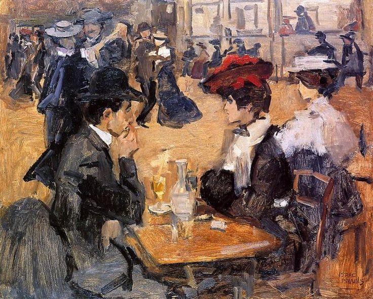 Isaac Israels (Dutch, 1865-1934) ~ Café dansant au Moulin de la Galette
