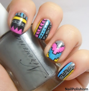 Nail Polishism: Nail ArtArt Nails Art, Nailart Nails, Nails Design, French Manicures, Polish Nails, Colors Nails, Nails Polish, Nails Artnail, Nails Art Nails