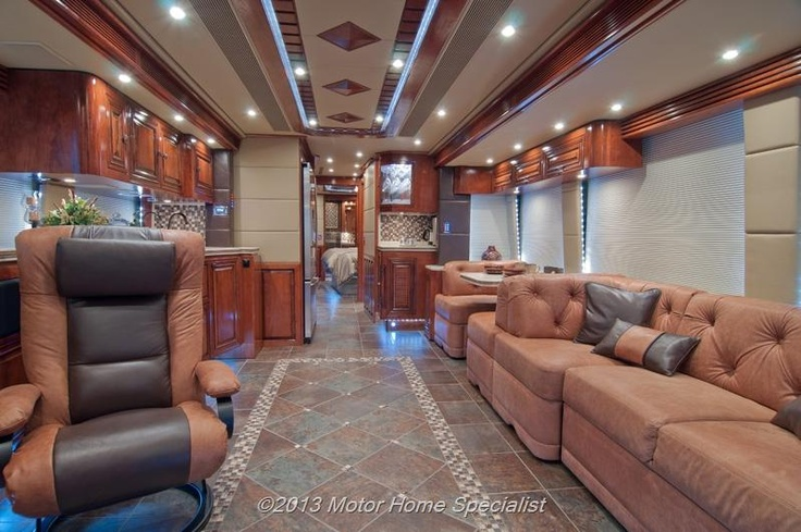 "New Prevost for sale in Alvarado TX | 2013 Prevost ""The Santa Fe"" H3-45 Luxury Motorcoach For Sale Bus Conversion For Sale from Motor Home Specialist in Alvarado Texas"