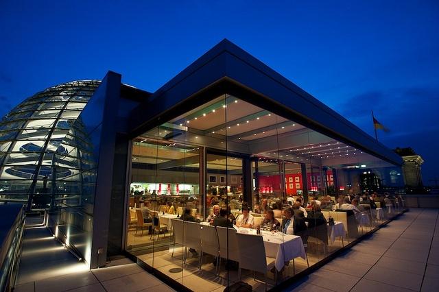 Committee Dinner, Kaefer Rooftop Restaurant, Reichstag Building,German Parliament - 19th European Biomass Conference and Exhibition #biomass #biofuels #bioenergy #berlin