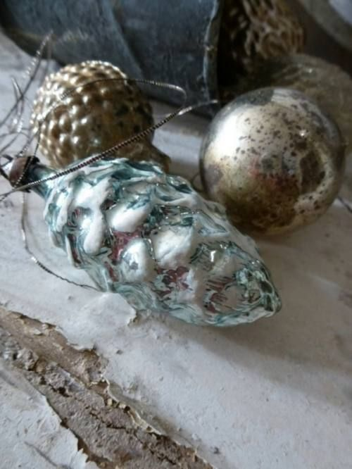 ♕ beautiful antique Christmas ornaments