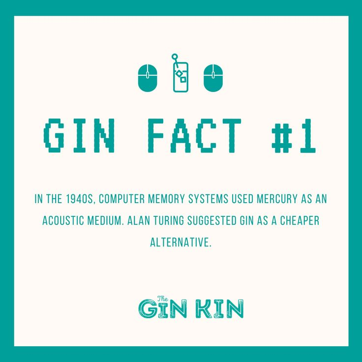 Did you know?  #gin #facts