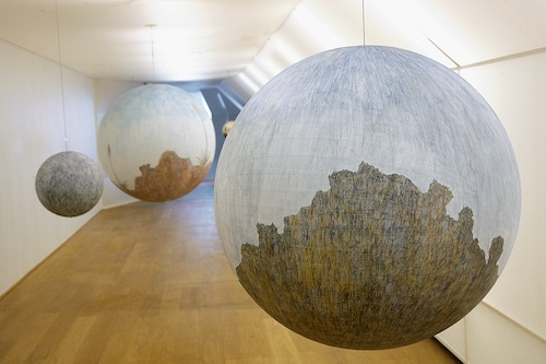 """Russell Crotty, """"Globe drawings"""" (2007): Quote Drawings, Quotes Glob Drawings Quotes, Astronom Globes, Color, Drawings Russell Crotti, Quotes Drawings, Drawings Paintings Sculpture, Globes Would, Globes Drawings Russell"""