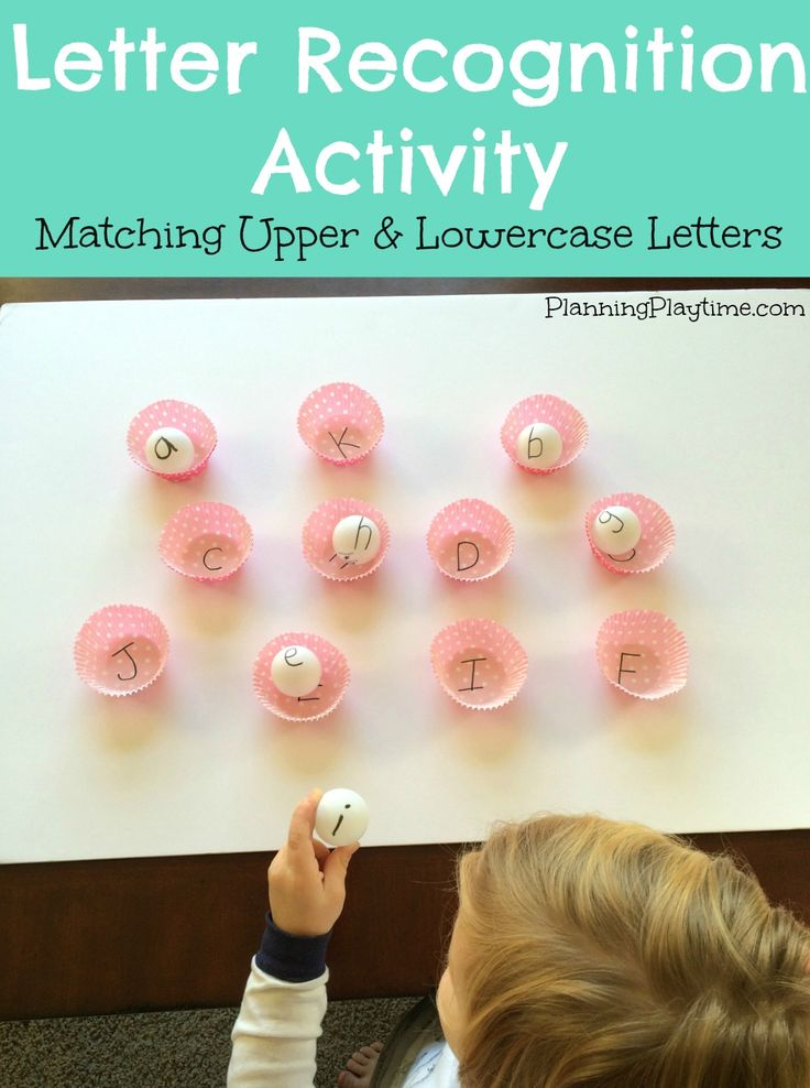 how to teach letter recognition