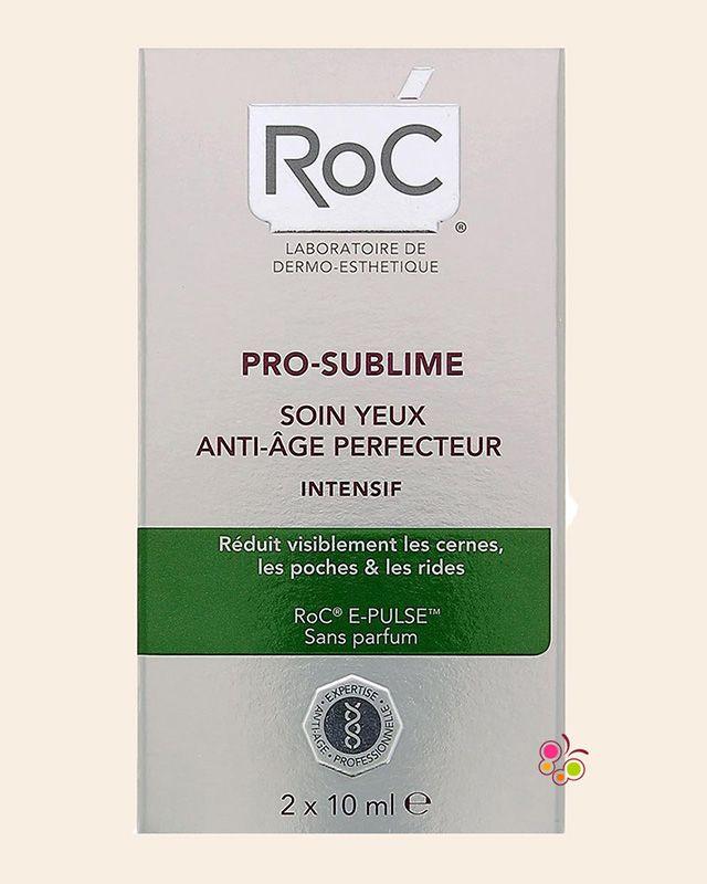 ROC Pro-Sublime Anti-Age Intensive Yaşlanma Karşıtı Kusursuzlaştırıcı Göz Bakım Sistemi 10 ml