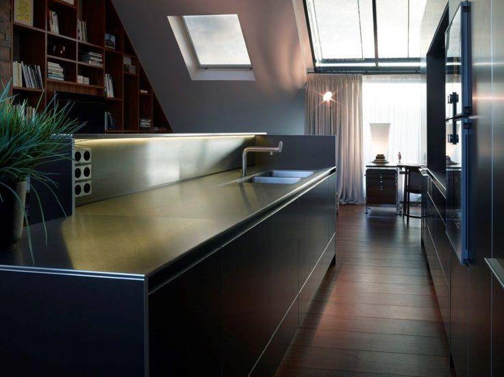 bulthaup   b3 keuken   aluminium in combinatie met roestvrij staal   realisatie door ligna recta