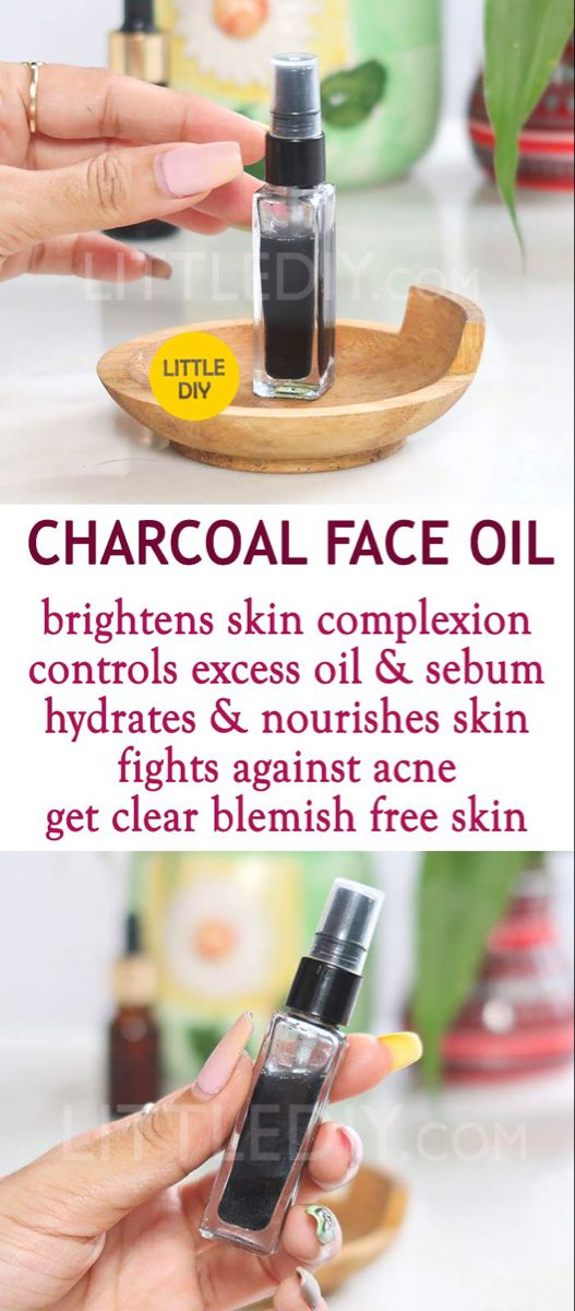 CHARCOAL FACE OIL FOR CLEAR SKIN