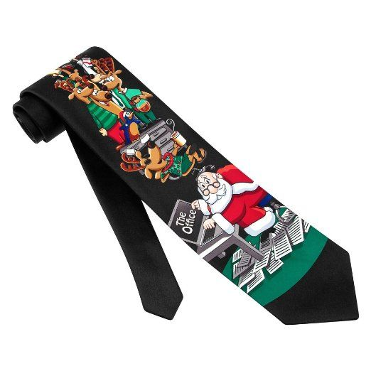 Funny Christmas Neck Ties. Are you looking for a unique Christmas gift for those men who populate your shopping list? Consider a funny Christmas necktie as a fun gift for men on Christmas. These funny neckties are great gifts for co-workers, relative