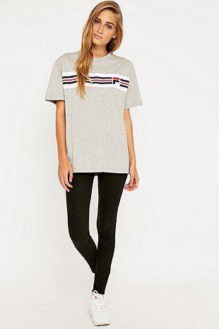 Fila Cameron Stripe T-shirt # love fila .. pinterest: ☞ katepisors