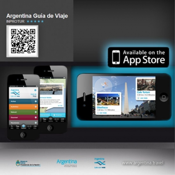 Argentina Travel Guide for iPhone: Argentina - Late con vos | Instituto Nacional de Promoción Turística