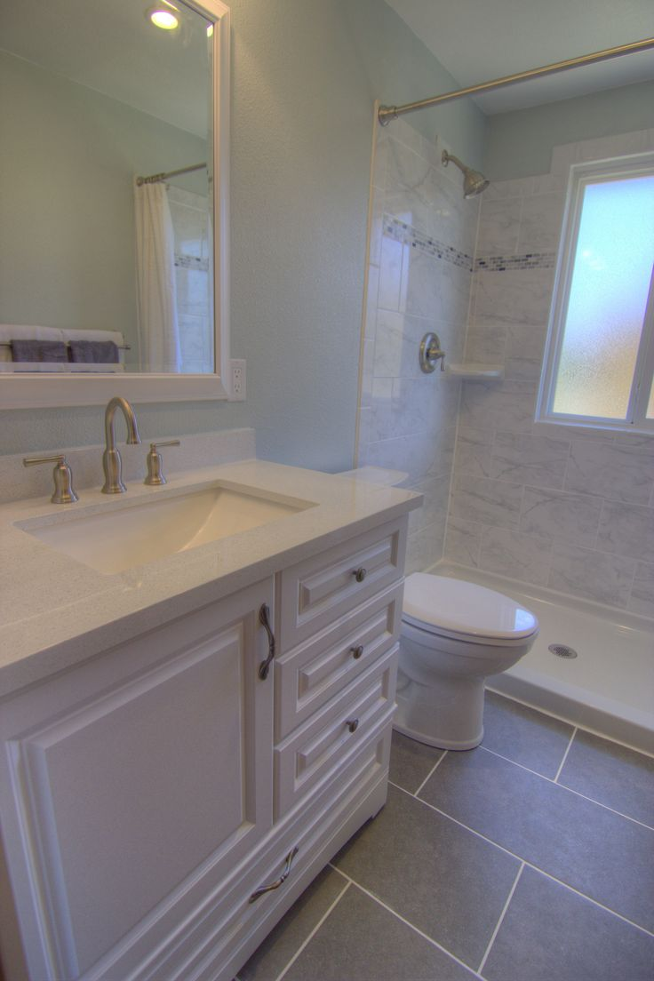 These industrious homeowners oversaw this renovation for Best countertops for resale