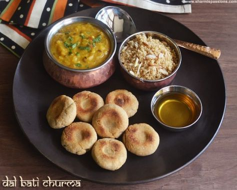 Learn how to make delicious dal bati churma.