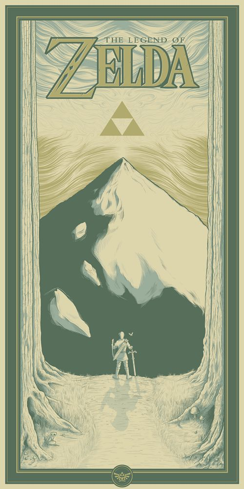 """The Legend of Zelda: Link's Incredible Journey"" by Matthew Johnson - Hero Complex Gallery  - 1"