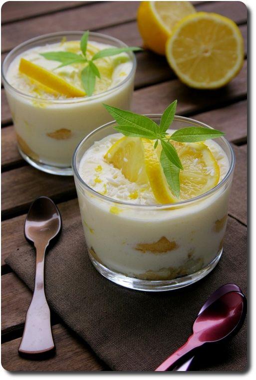 Tiramisù al limone (tiramisu au citron) - Savoirs et saveurs