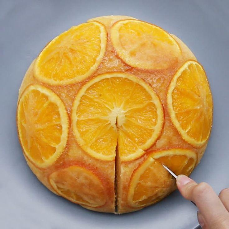 炊飯器で簡単!オレンジチーズケーキ