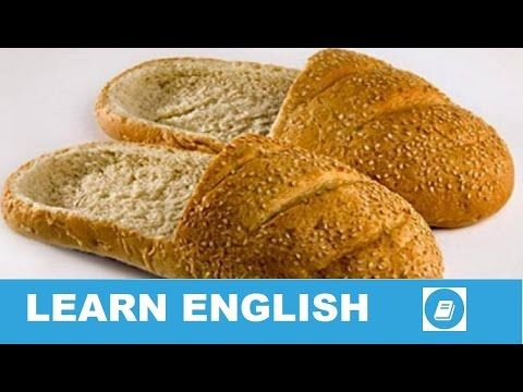Learn English Vocabulary - Types of Bread - Talking Flashcards - E-ANGOL